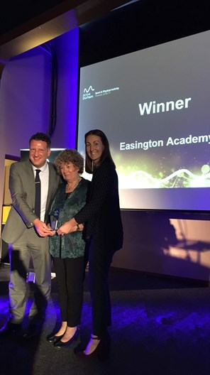 Easington wins award for their contribution to sport