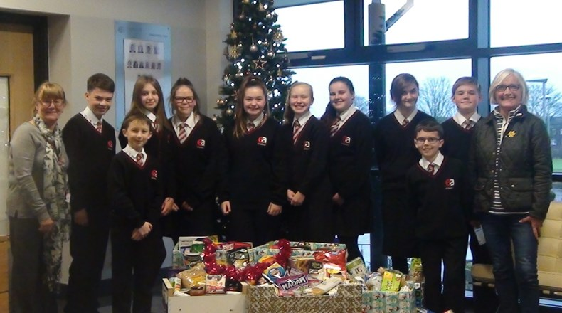 Easington collect thousands of food items for local foodbank